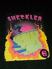 RARE Vintage RYAN SHECKLER Skateboard Skateboarding Blacklight Poster 24x18