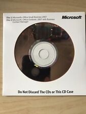 Microsoft Office Small Business 2007 Outlook Business Contact Manager