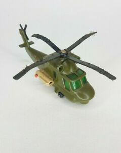 Vintage Matchbox BattleKings Helicopter K118 Lesney England 1978 Seasprite