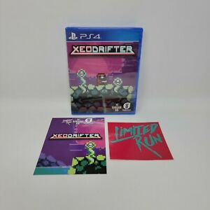 Xeodrifter Sony Playstation 4 PS4 Limited Run #8 Brand New Sealed with Card