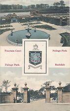 POSTCARD    ROCHDALE   Falange  Park