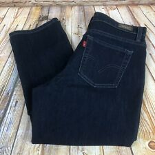 Levi's 512 Perfectly Slimming Skinny Womens Size 12 S Blue Jeans Denim Pants