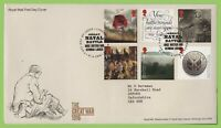 G.B. 2016 The Great War set on Royal Mail First Day Cover, Lyness