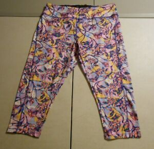 LuLaRoe Simply Comfortable Womens Floral Athletic Leggings Size XL