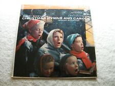 ROBERT SHAW - Christmas Hymns and Carols - LP Vinyl RCA RED SEAL - HOLIDAY Music