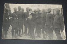 CPA CARTE POSTALE 1914 GUERRE 14-18 TIRAILLEURS SENEGALAIS TERREUR NOIRE BOCHES