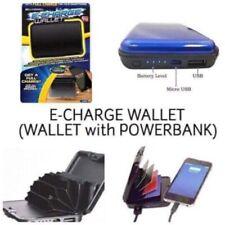 Bell + Howell E-Charge-Portemonnaie mit RFID-geschützter Technologie Powerbank