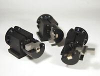 Newport bare fiber optic clamping rotators model 466A-718