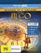 NEW Hugo 2012 Limited 3D Edition BLU-RAY 100% GENUINE AUST RETAIL REGION B COPY