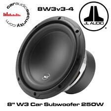 """JL Audio-JL 8W3v3-4 - 8"""" SUBWOOFER AUTO 4 Ohm per Auto Sub Subwoofer 250 W"""