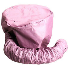 Fön Haube Haube Hut Befestigung Rosa Portable Soft Hair Drying Salon Cap E99D