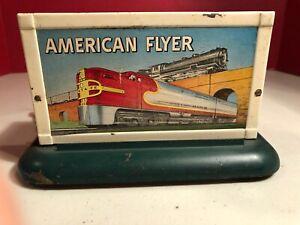 American Flyer Diesel Horn Billboard Santa Fe