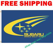 SUBARU Logo Flag Banner 3x5 ft Racing Car Show Garage Wall Decor Sign Gift 2019