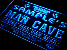 Name Personalized Custom Home Bar Beer Man Cave Football Neon Sign 7 colors