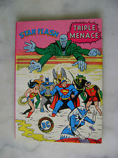 Album Star Flash n° 2 - Triple menace - Aredit DC