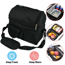 8L Insulated Lunch Box Tote Men Women Travel Hot Cold Food Cooler Thermal Bag