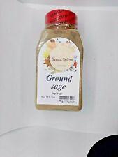 Ground Sage Seasoning, Salvia planta 5OZ