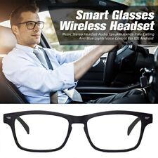 More details for bluetooth bone conduction headphones polarized lens smart sunglasses glasses