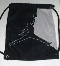 AIR JORDAN Black String Bag Backpack