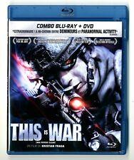 BLU-RAY + DVD / THIS IS WAR - FILM DE KRISTIAN FRAGA / COMME NEUF
