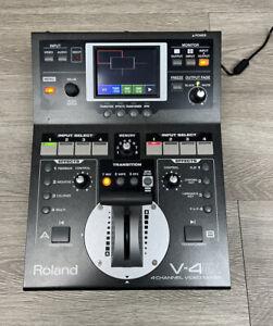 Roland V-4EX Four Channel Digital Video Mixer - *Mint Condition*