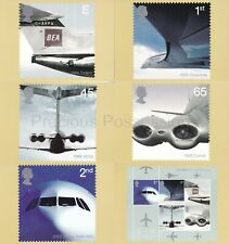 GB POSTCARDS PHQ CARDS 2002 NO 241 AIRLINERS USED REAR FDI STICKER ADDRESS