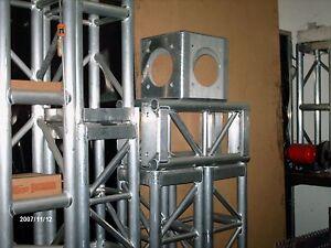 Aluminum Cube corners  12 x12