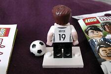 Lego 71014 MARIO GOTZE (#19) Germany football minifigure DFB Mannschaft genuine