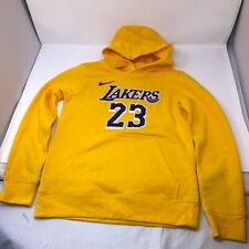 Nba LA Lakers Hoodie Sweatshirt #23 Lebron James Boys Size Medium