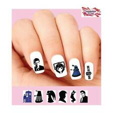 Waterslide Nail Decals Set of 20 - Doctor Who Assorted