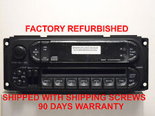 Mopar 82206588 RBV Radio AM/FM CD w/4 DISKchanger 98 thru 04