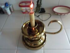 Brass Candletick Style Electric Light