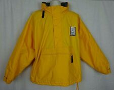 Nagano, Japan Winter Olympics 1998 ~CBS Sports Hooded Pullover Jacket ~Yellow~ L
