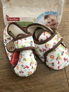 Fisher Price Baby Slippers Age 2-3 Years Brand New