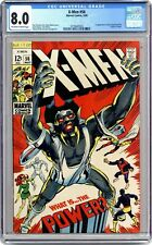 Uncanny X-Men #56 CGC 8.0 1969 3718447023