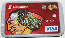 Chicago Blackhawks Scotiabank Canada Visa Promotional Pin Magnet Attachment