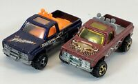 1977 Piranha Hot Wheels Truck Lot Of 2 Gold Wheels USED