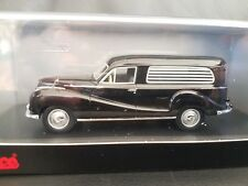 Schuco BMW 502 Hearse Black 1:43 scale Model limited to 1000