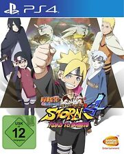 Ps4-Naruto Shippuden: Ultimate Ninja Storm 4-Road to boruto - (nuevo con embalaje original)