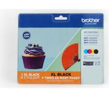 BROTHER LC123/LC129XL Cyan, Magenta, Yellow & Black Ink Cartridges - Multipack