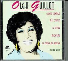 Olga Guillot cuenta Conmigo ,Piel Canela, Te Olvide y Otros Exitos NEW SEALED CD