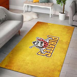 Home Decoration Pittsburgh Pirates Baseball Rug MLB