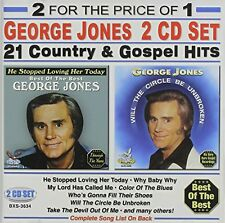 21 Country & Gospel Hits - George Jones (2013, CD NEUF)