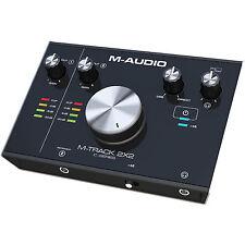 M-Audio M-Track 2X2 (2-Input/2-Output) USB Audio Recording Interface -NEW-