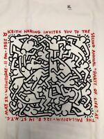 KEITH HARING X UNIQLO SPRZ NY Party of Life White US Size  S - XL NWT MOMA NYC