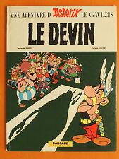 Une aventure d'Astérix le Gaulois  Le DEVIN -Uderzo & Goscinny. Dargaud EO