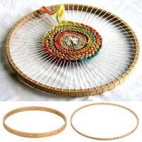 Wooden Round Loom Wooden Knitting Weaving  Tool Handmade DIY 2 Size
