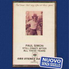 "PAUL SIMON "" STILL CRAZY AFTER ALL THESE YEARS ""MUSICASSETTA NUOVA MC K7 1975"
