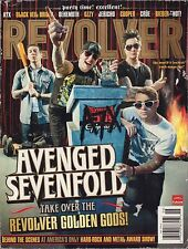 Revolver May June 2011 Avenged Sevenfold, Black Veil Brides 102916DBE