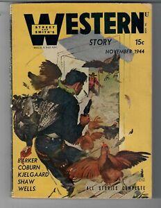 VINTAGE PULP MAGAZINE WESTERN STORY DIGEST SIZE NOV. 1944